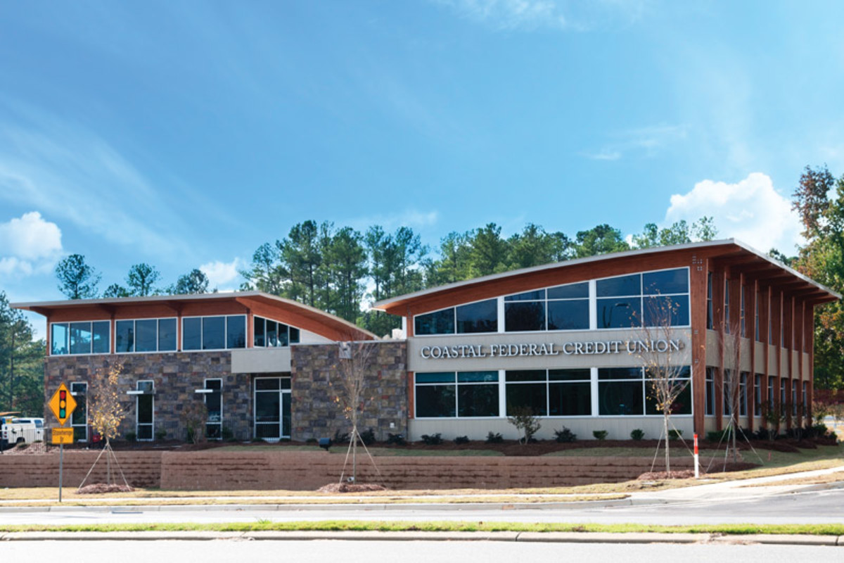 A branch of the Coastal Federal Credit Union in Raleigh, North Carolina.