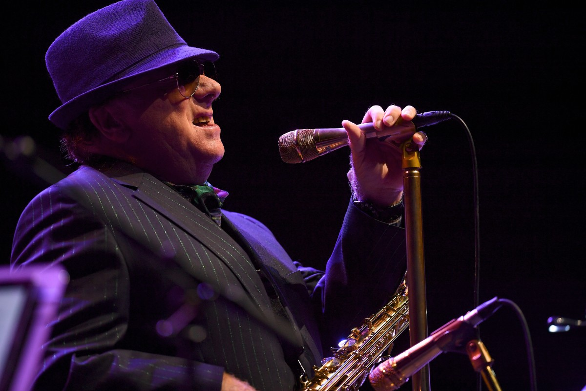 Van Morrison performs during the 18th Annual Americana Music Festival & Conference at Ascend Amphitheater on September 14th, 2017, in Nashville, Tennessee.