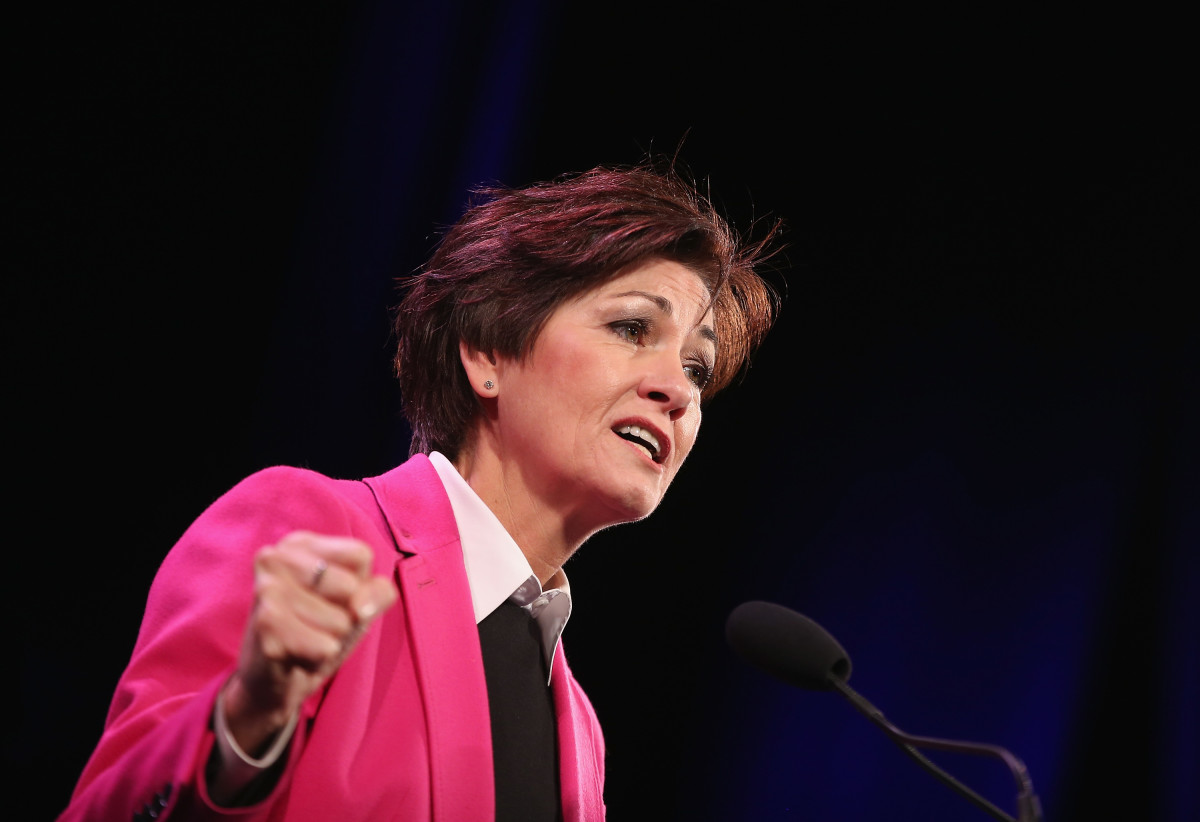 Governor Kim Reynolds, pictured here in 2015.