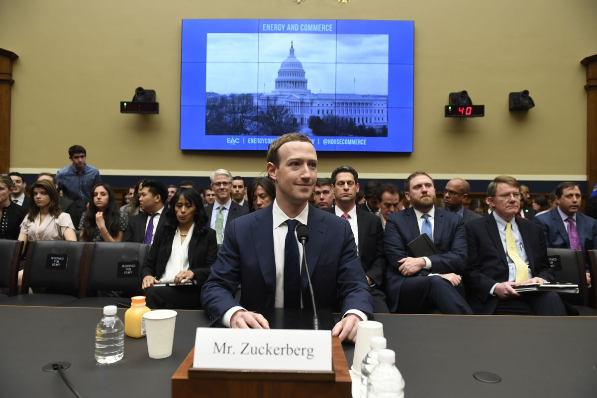 Facebook Chief Executive Officer Mark Zuckerberg testifies during a U.S. House Committee on Energy and Commerce hearing about Facebook on Capitol Hill in Washington, D.C., on April 11th, 2018.