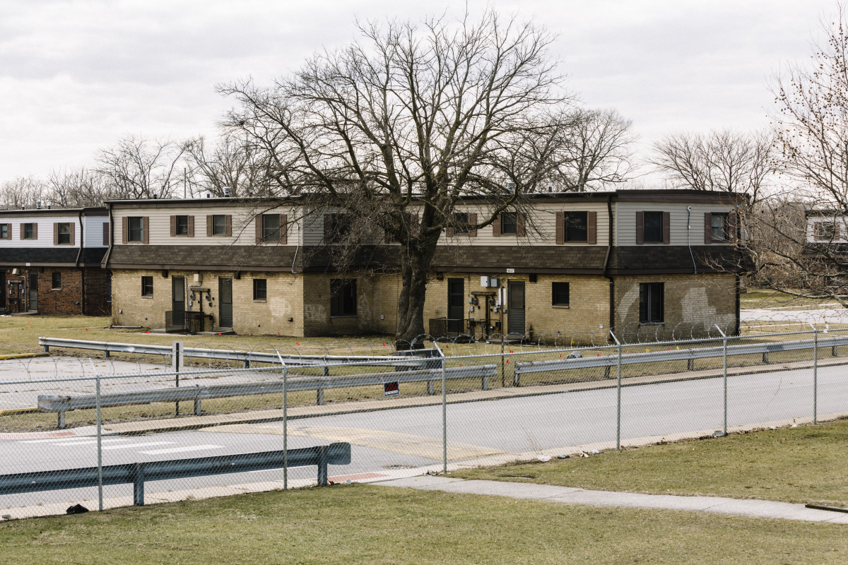The West Calumet Housing Complex in East Chicago, Indiana.