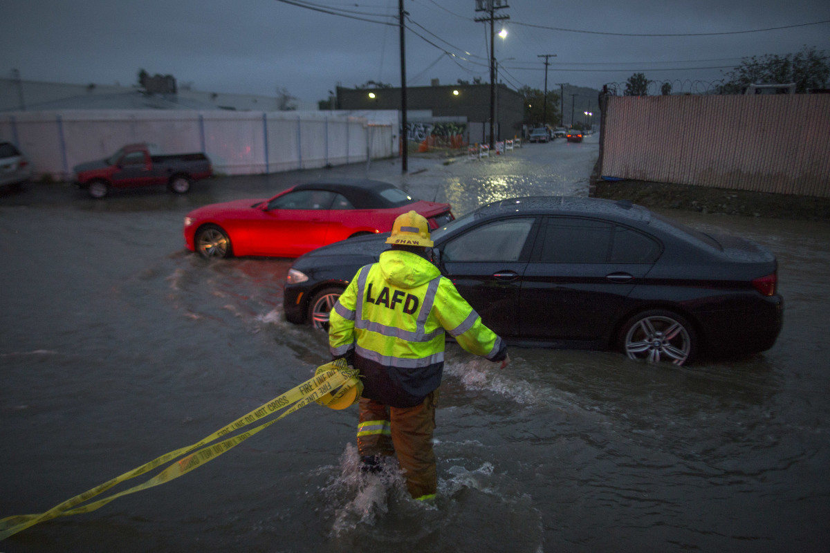 The storm that hit Southern California on February 17th, 2017, which caused widespread flash floods, was the most powerful the region had faced in six years.