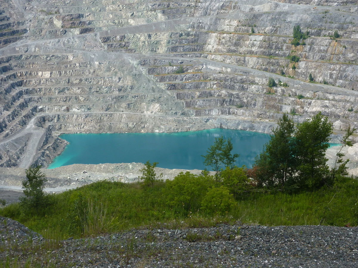 Jeffrey Mine in Asbestos, Quebec.
