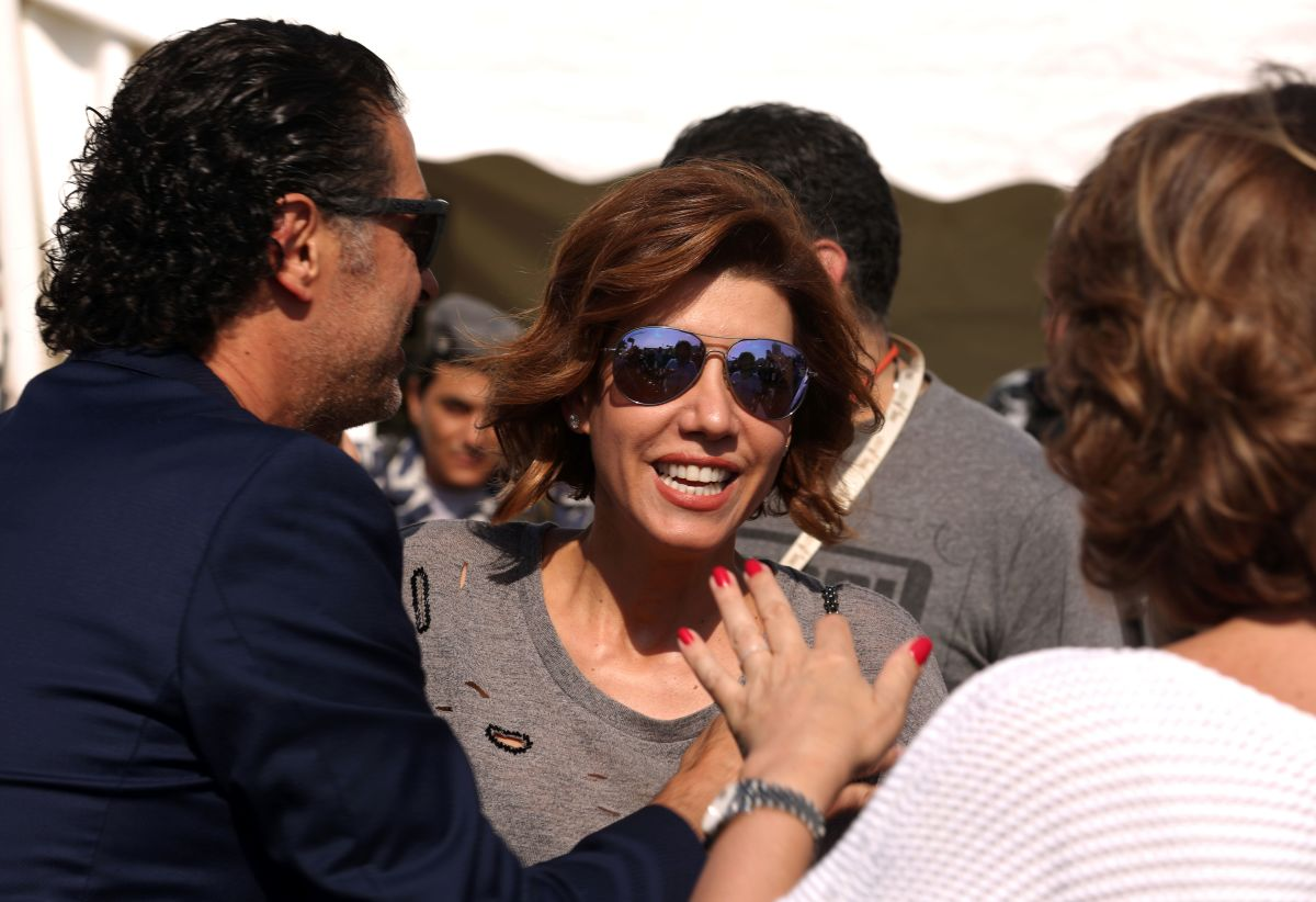 Paula Yacoubian (center), pictured here in 2016.