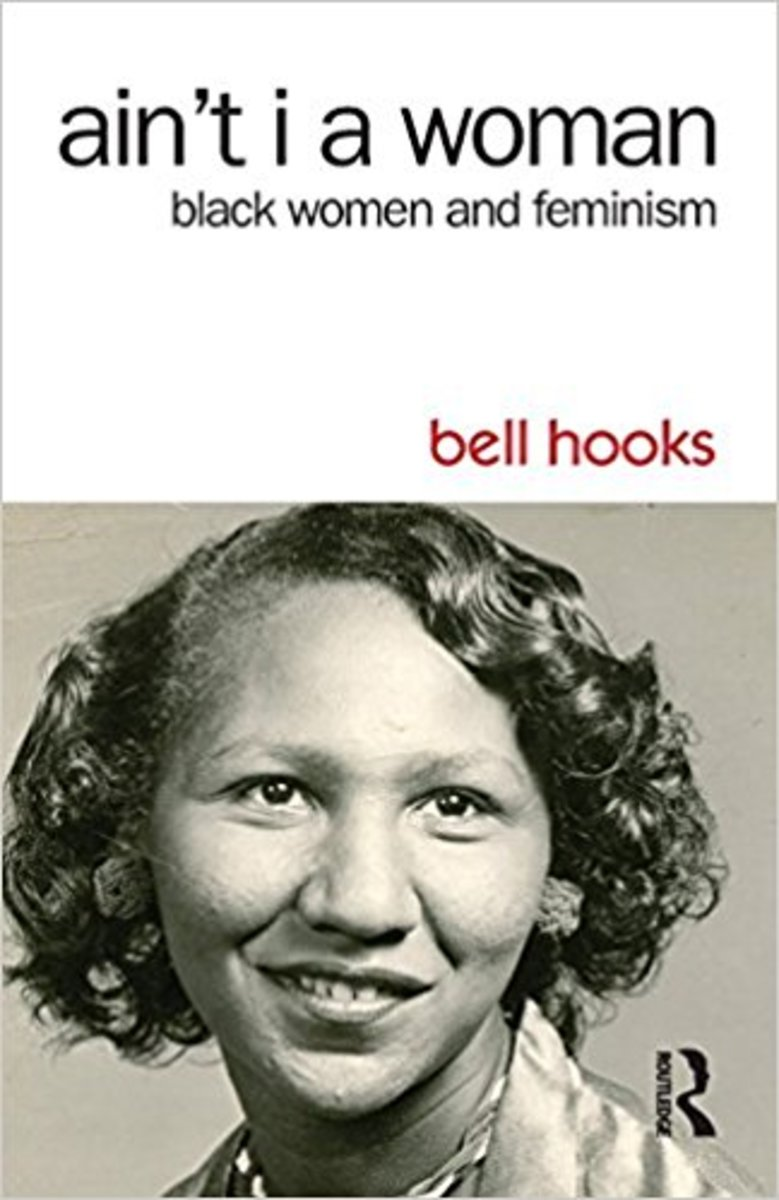 A cover for 'Ain't I a Woman: Black Women and Feminism,' by Bell Hooks.