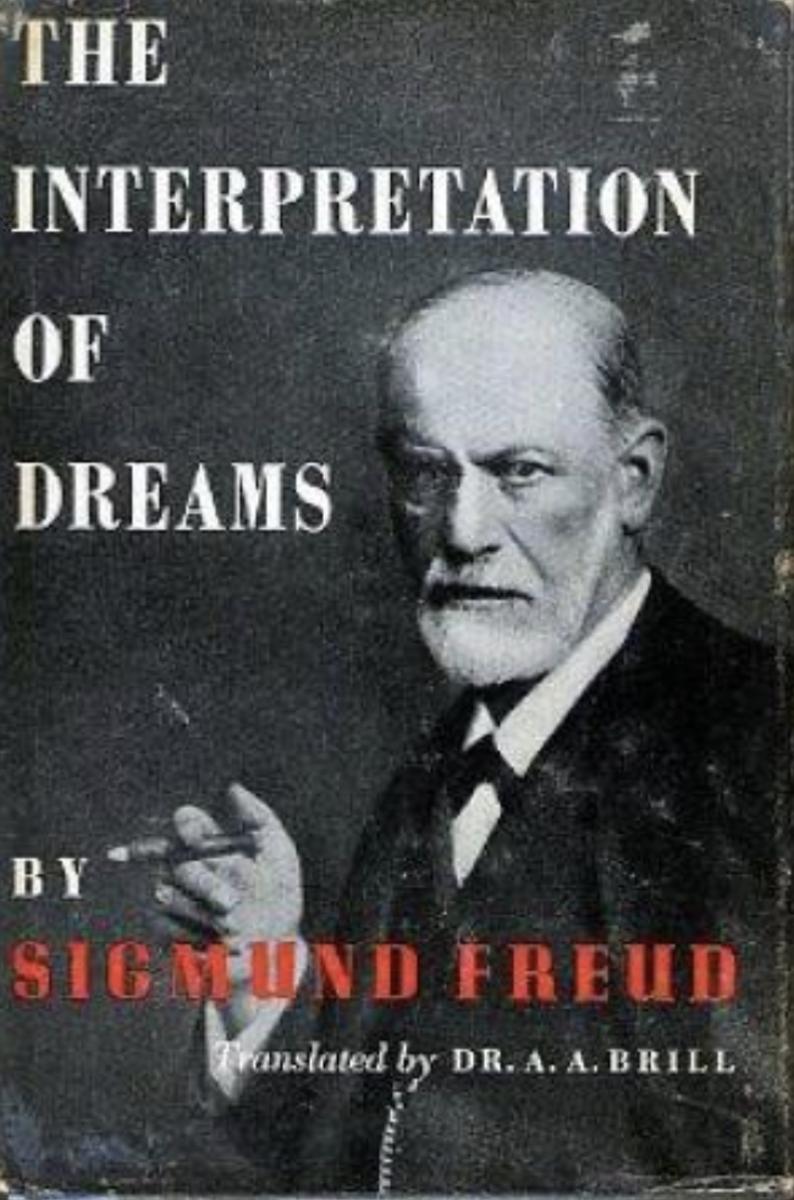 A cover for Sigmund Freud's 'The Interpretation of Dreams.'