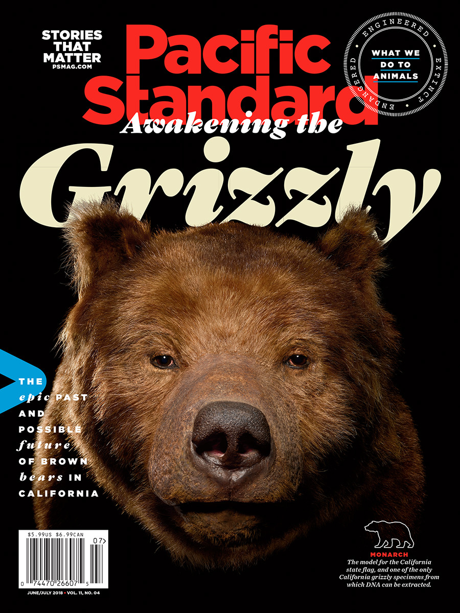 A version of this story originally appeared in the June/July 2018 issue of Pacific Standard. Subscribe now and get eight issues/year or purchase a single copy of the magazine.