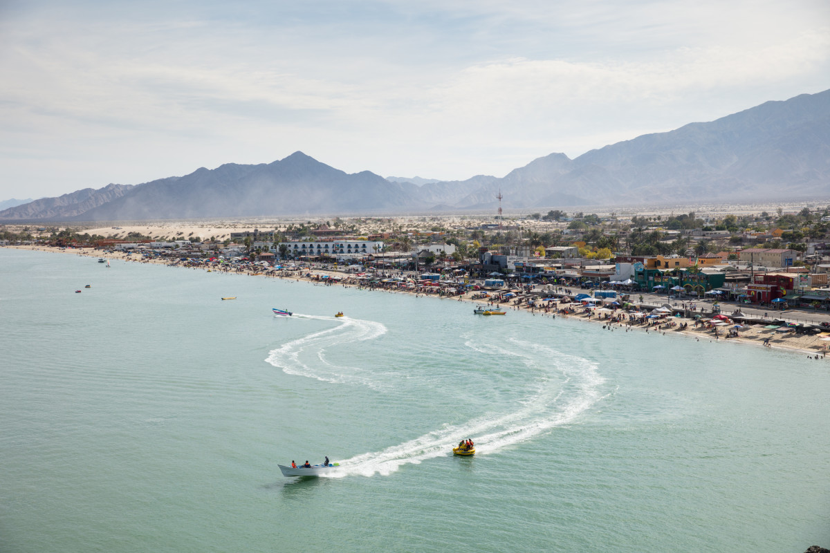 San Felipe is a popular local tourist town located in the Gulf of California in the Mexican state of Baja.