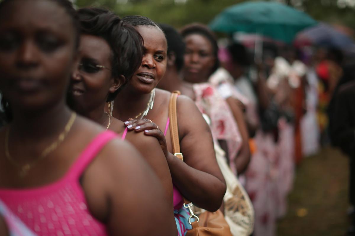 Women in Kigali, Rwanda.