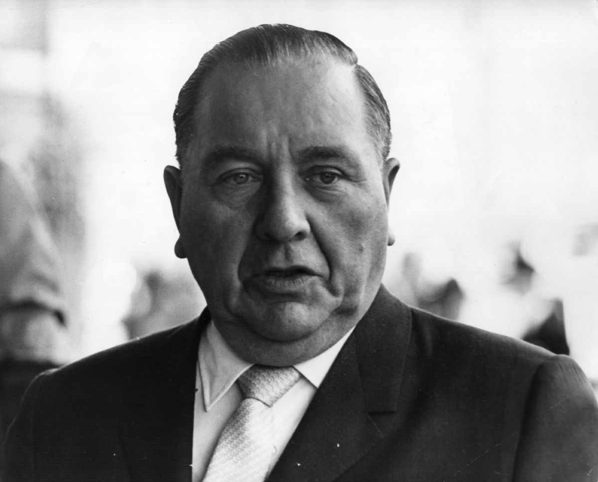 Democratic politician and mayor of Chicago Richard Daley.
