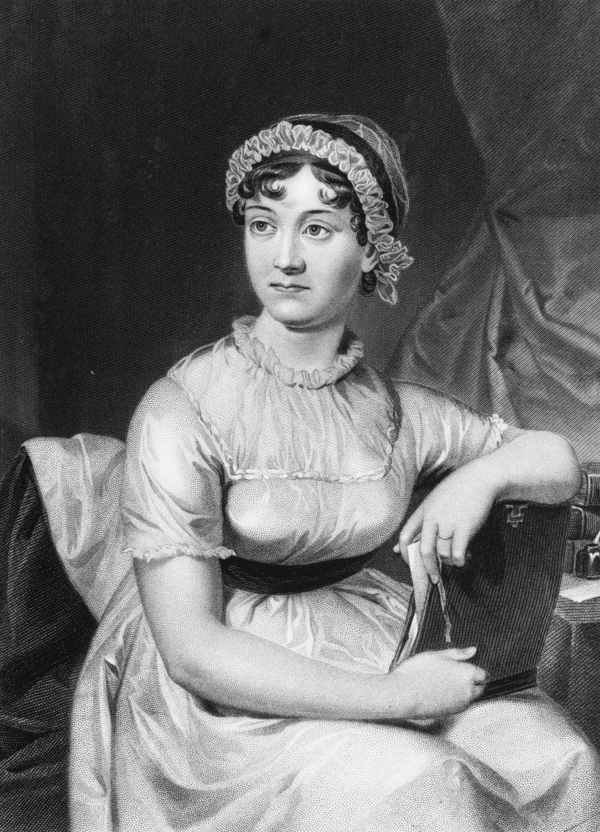 English novelist Jane Austen.