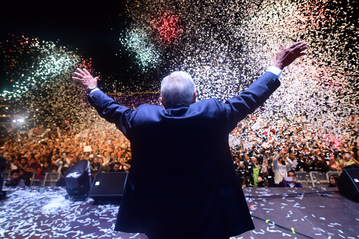 Viewfinder: Lopez Obrador Wins Mexico's General Elections by a Landslide