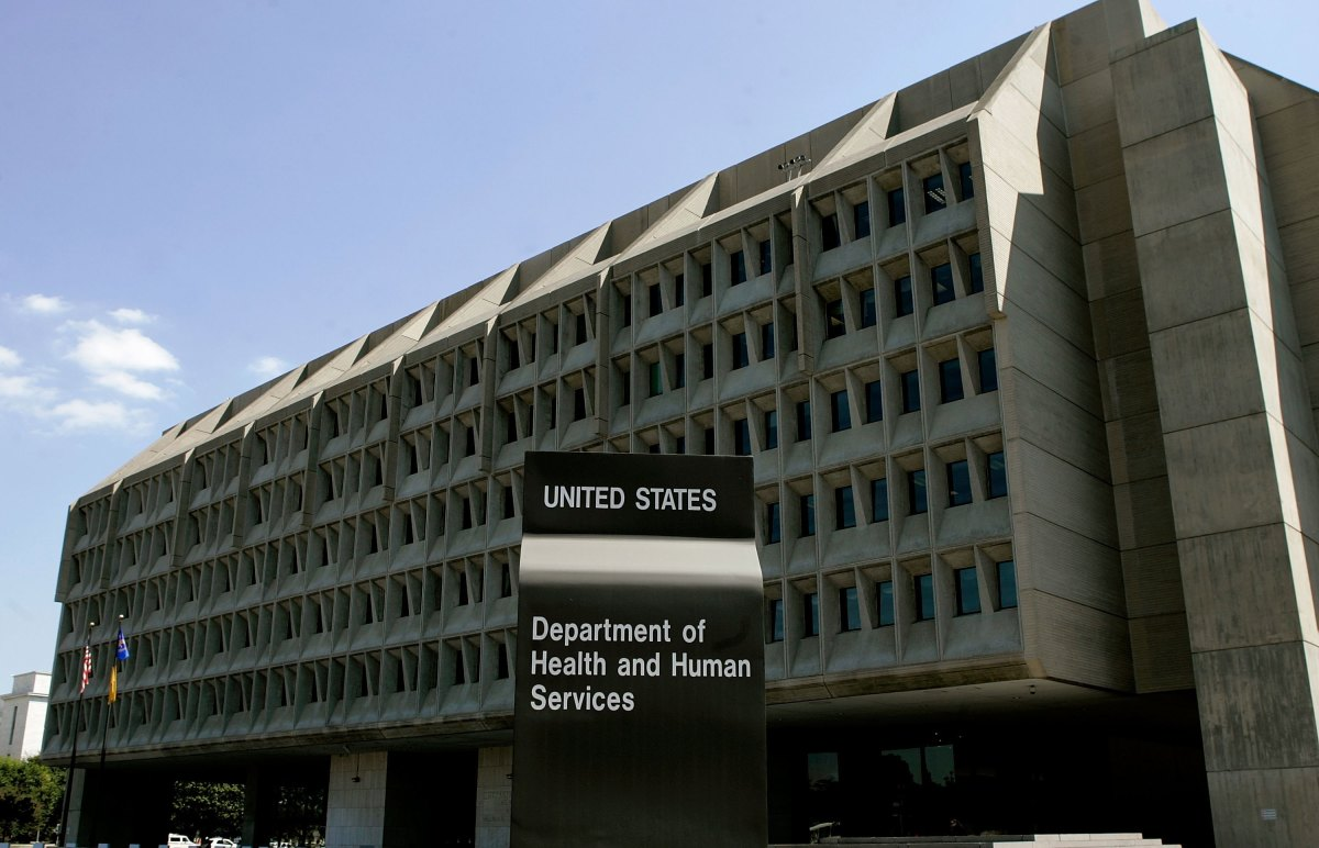 The U.S. Department of Health and Human Services building