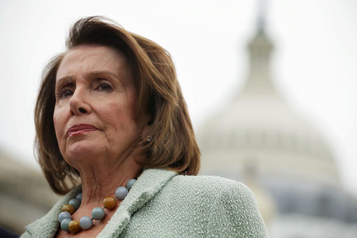 House Minority Leader Nancy Pelosi.