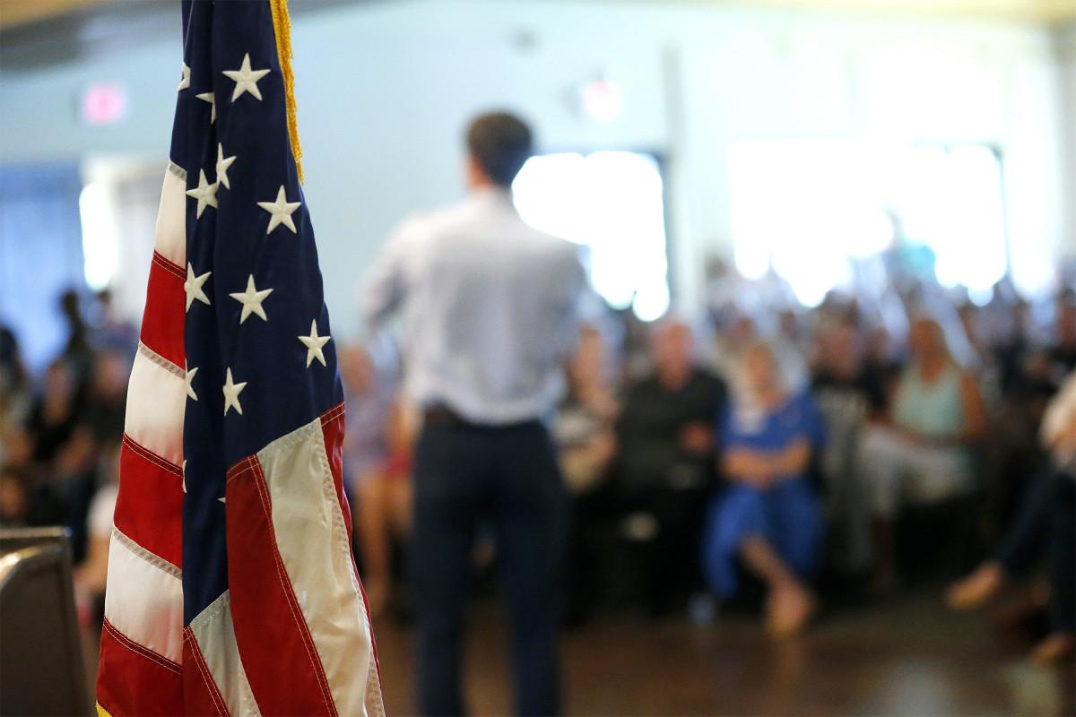U.S. Representative Beto O'Rourke (D-Texas) of El Paso.
