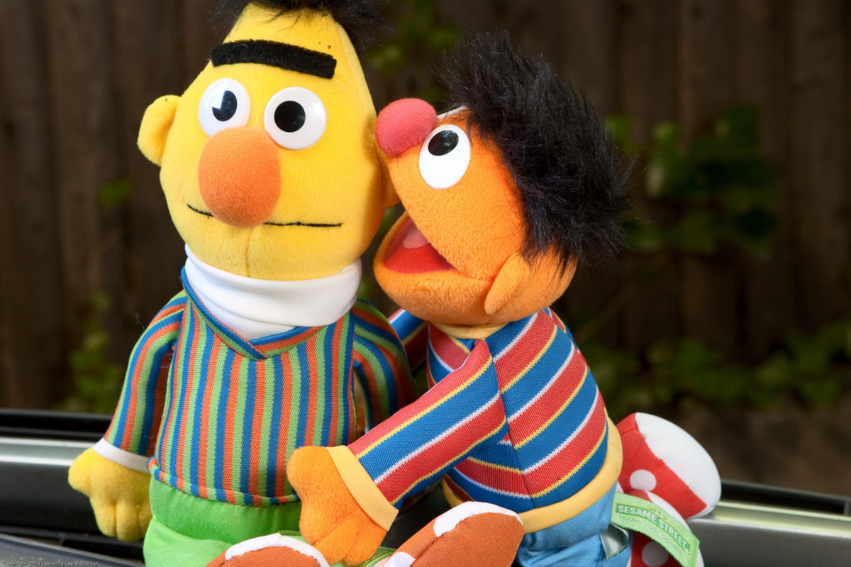 Bert and ernie homosexual
