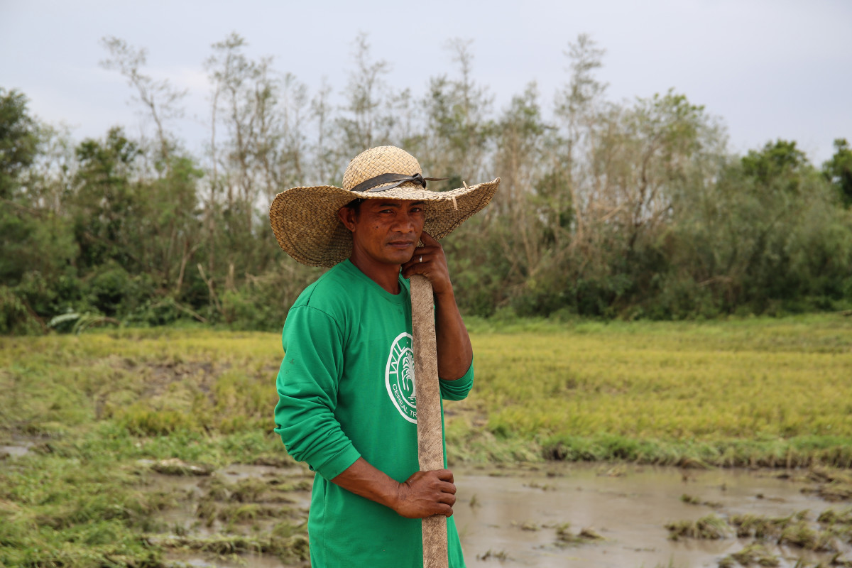 """We were hit hard. And some of us were luckier than others. We may have lost everything but we still have our lives, we will rebuild our homes and grow new crops,"" says one farmer, working his fields just outside the town of Baggao."