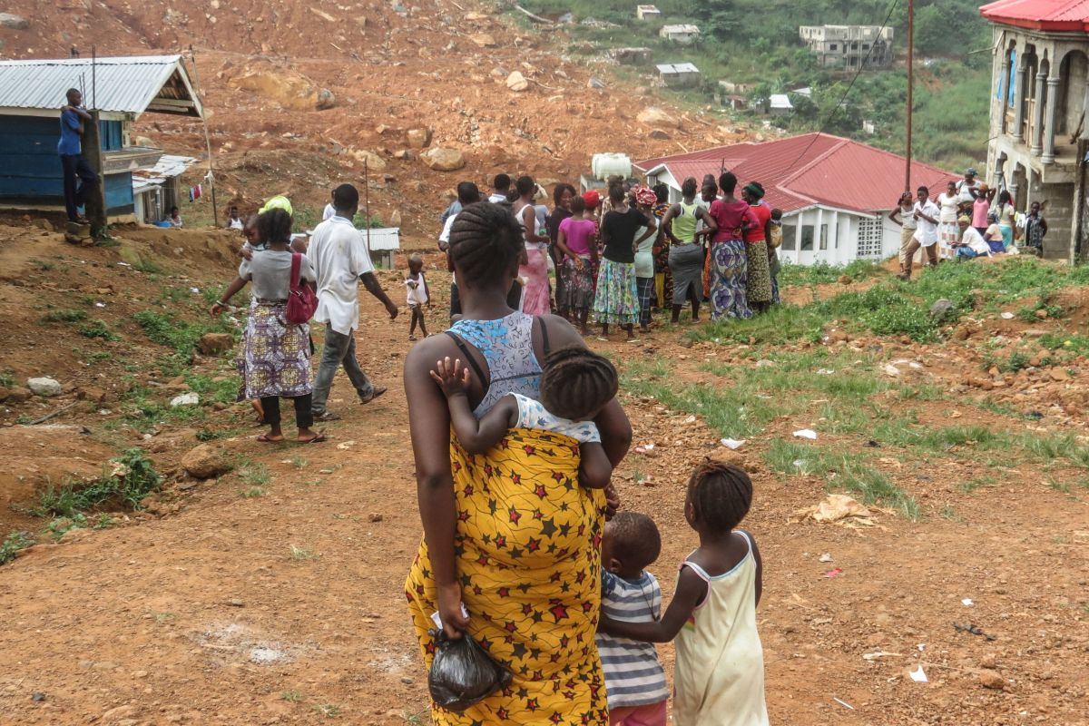 After a Devastating Mudslide, Sierra Leone's Women Work to Rebuild