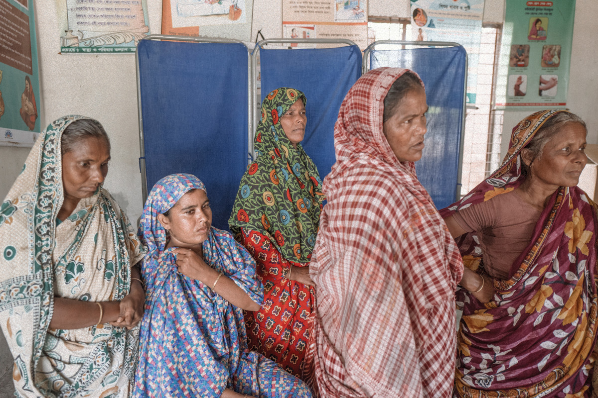 The Kothajni Community Clinic was established in September of 2015 and serves many people from the former chhitmahals, who had no access to health-care facilities prior to becoming citizens of Bangladesh.