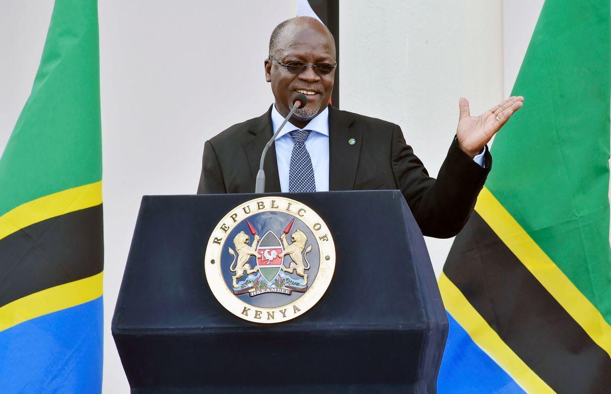 Tanzanian President John Pombe Magufuli.