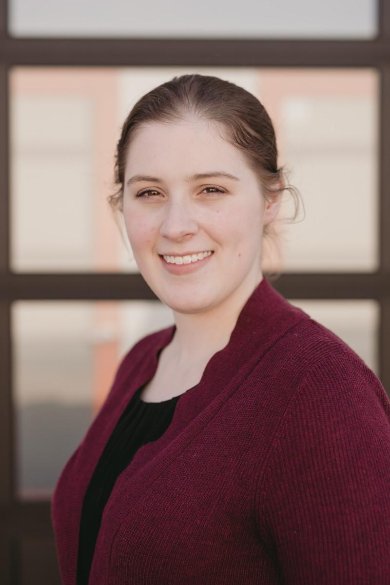 Sarah Blahovec.