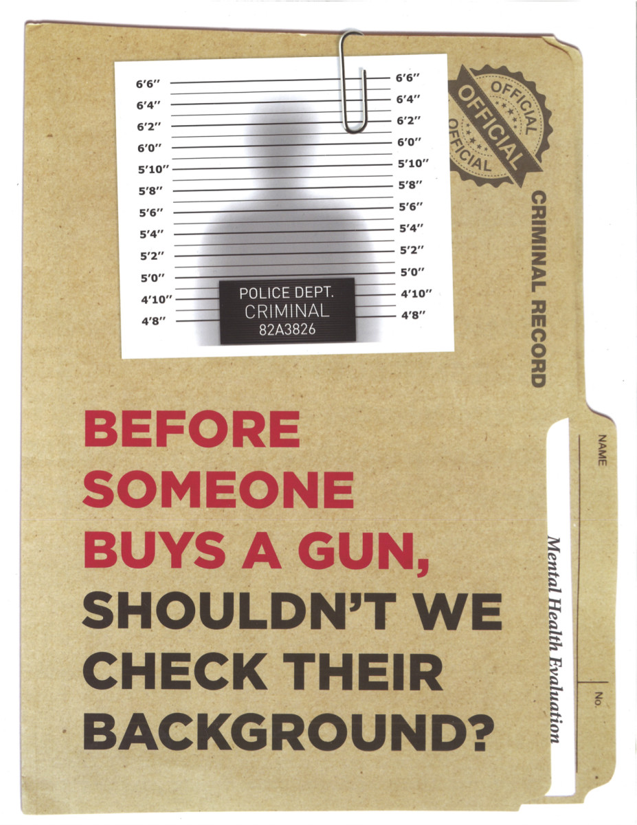 A Minnesota campaign flyer from Everytown for Gun Safety.