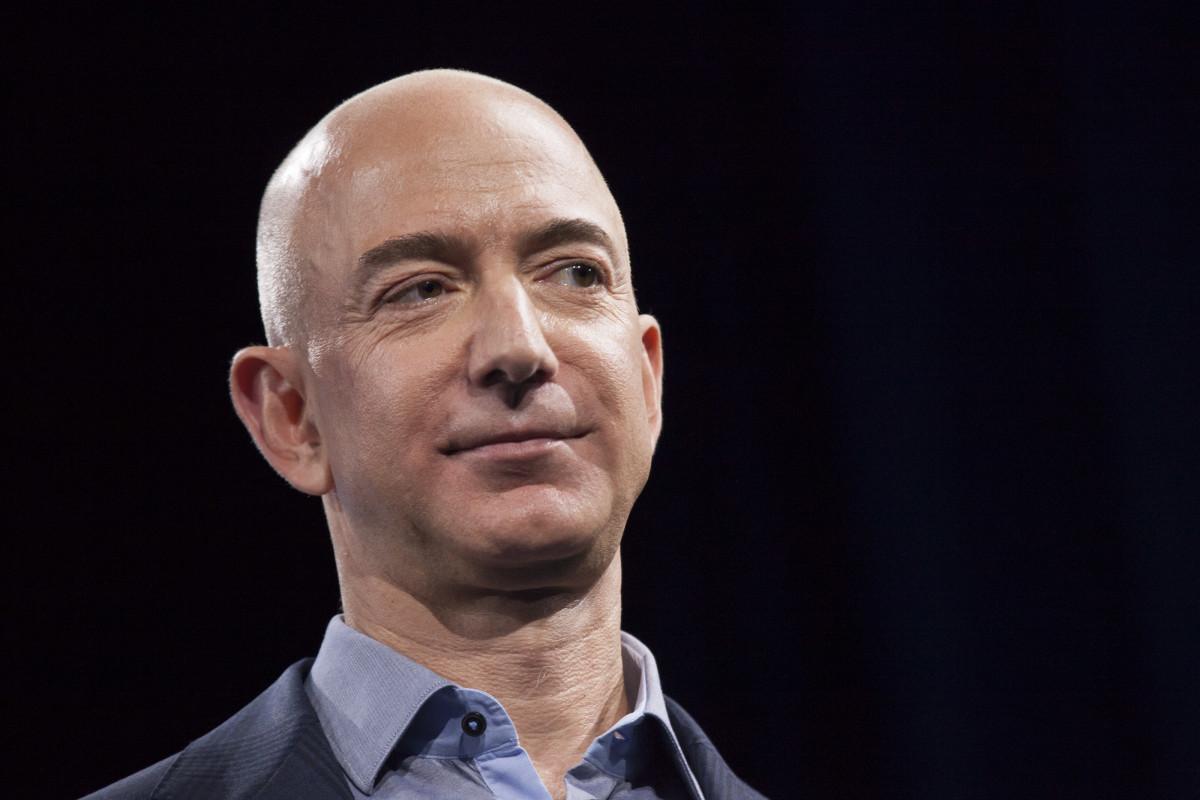 Amazon.com founder and chief executive Jeff Bezos.