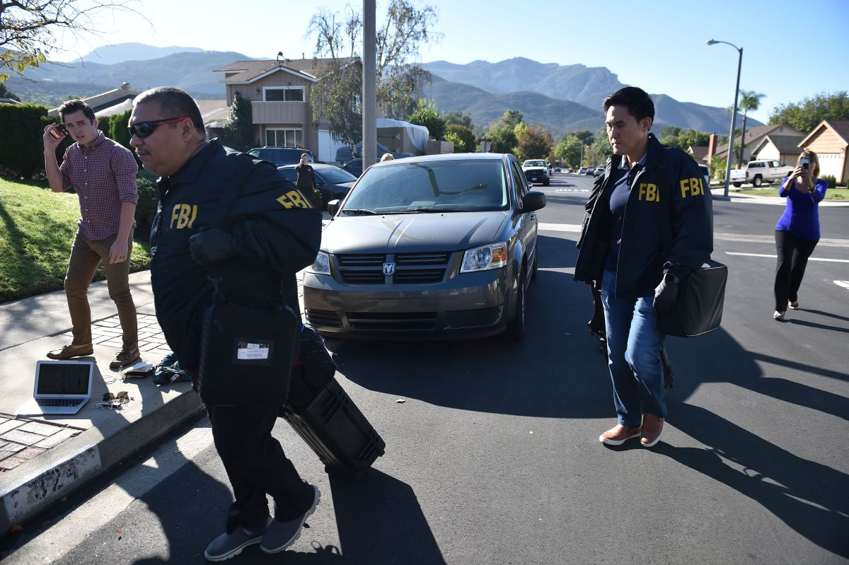 On November 8th, 2018, the morning after the shooting, FBI investigators arrive at the home of the gunman who killed 12 people in a crowded bar in Thousand Oaks, California.