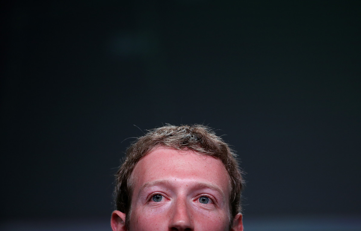 Mark Zuckerberg, Facebook's founder and chief executive officer.