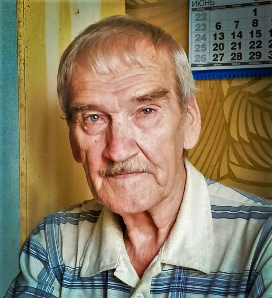 Stanislav Petrov, pictured here in 2016.