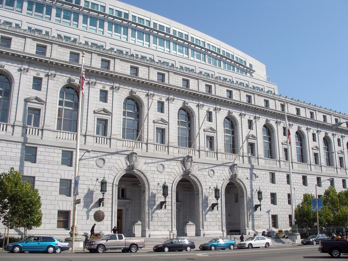 The California Supreme Court headquarters in San Francisco.