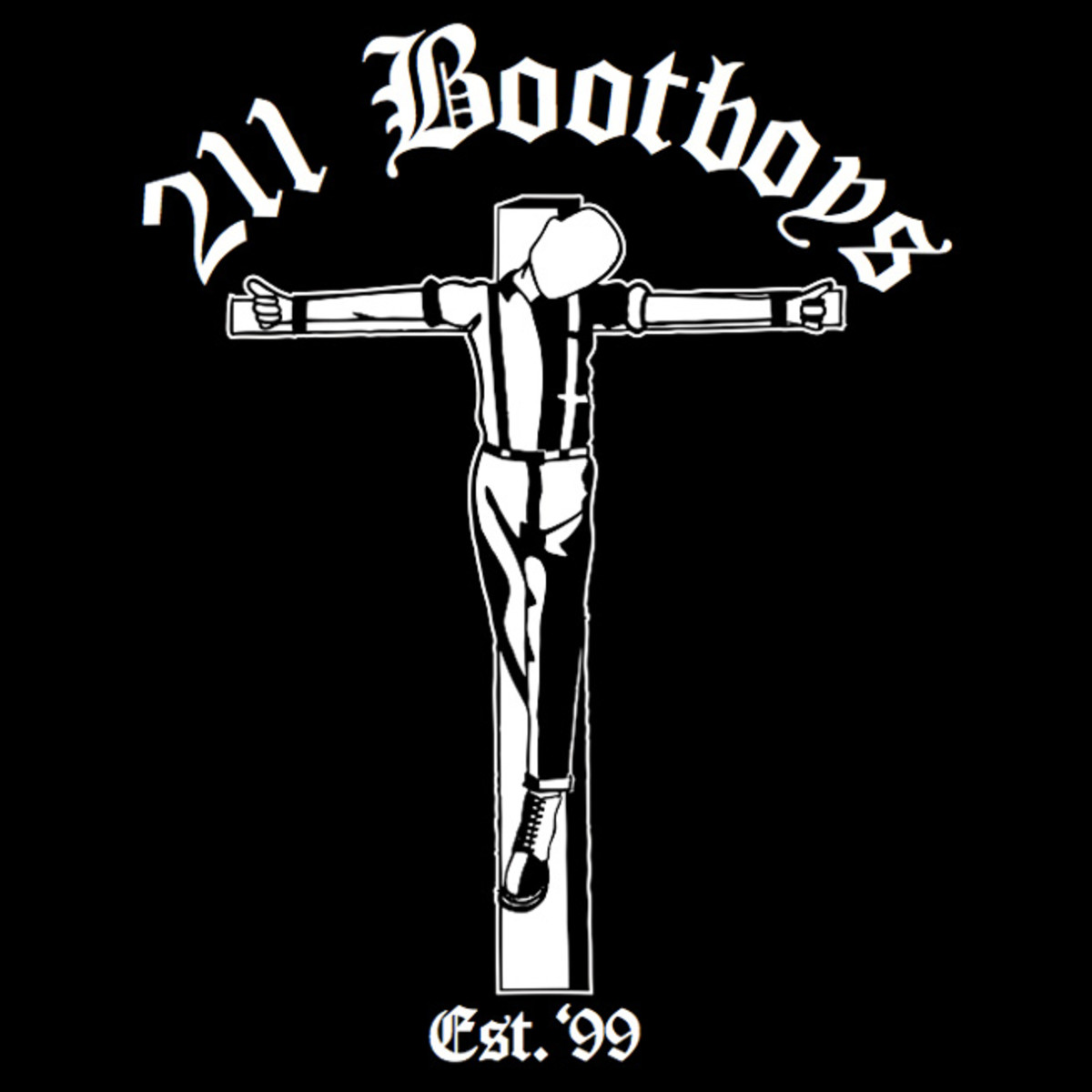 Logo of the 211 Bootboys.