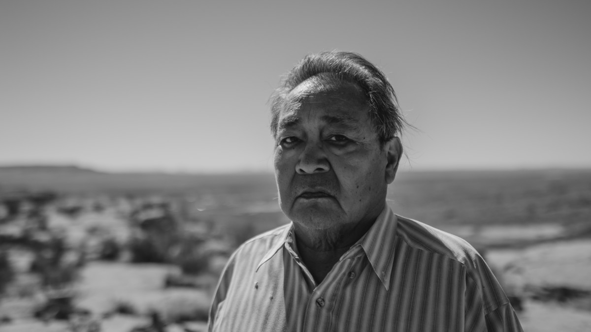 Leigh Kuwanwisiwma, director of the Hopi Cultural Preservation Office.