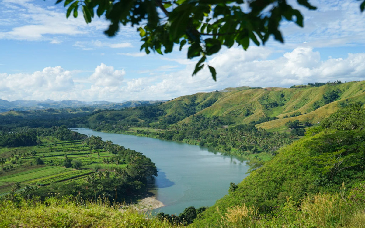The Sigatoka River Valley.