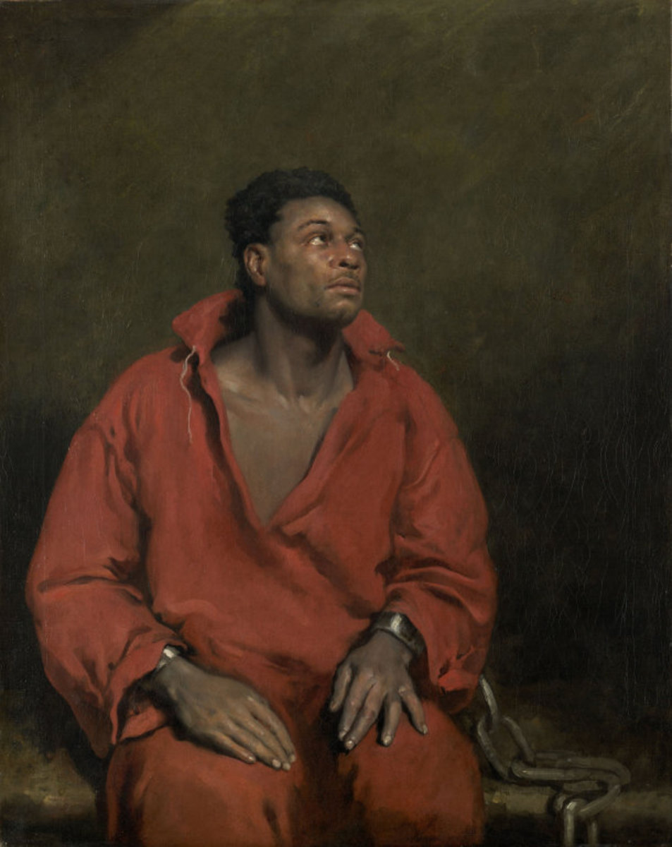 John Phillip Simpson, The Captive Slave, 1827.