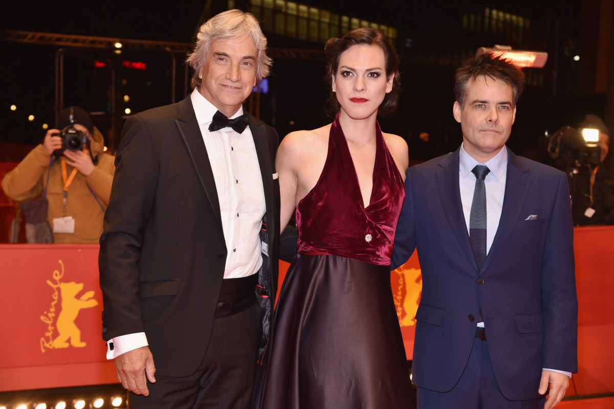 Actor Francisco Reyes, actress Daniela Vega, and film director and screenwriter Sebastian Lelio.