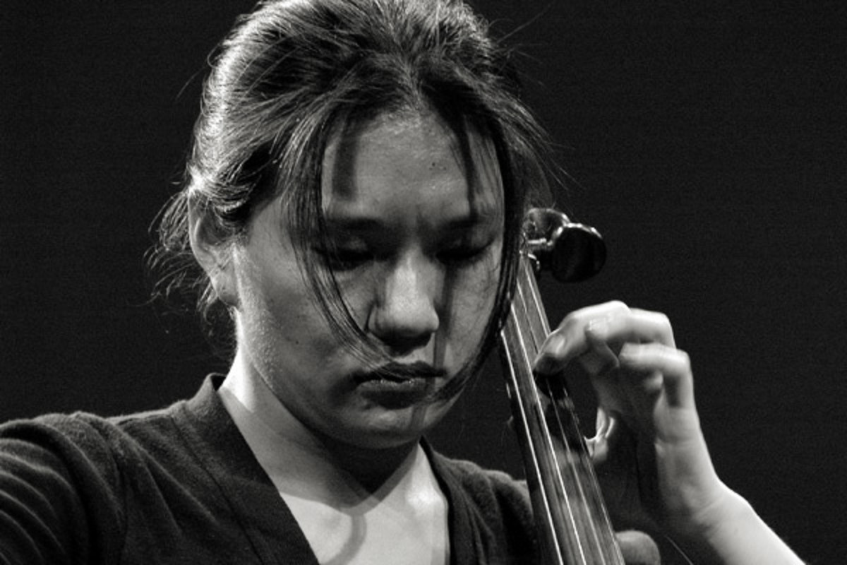 Cellist Okkyung Lee.