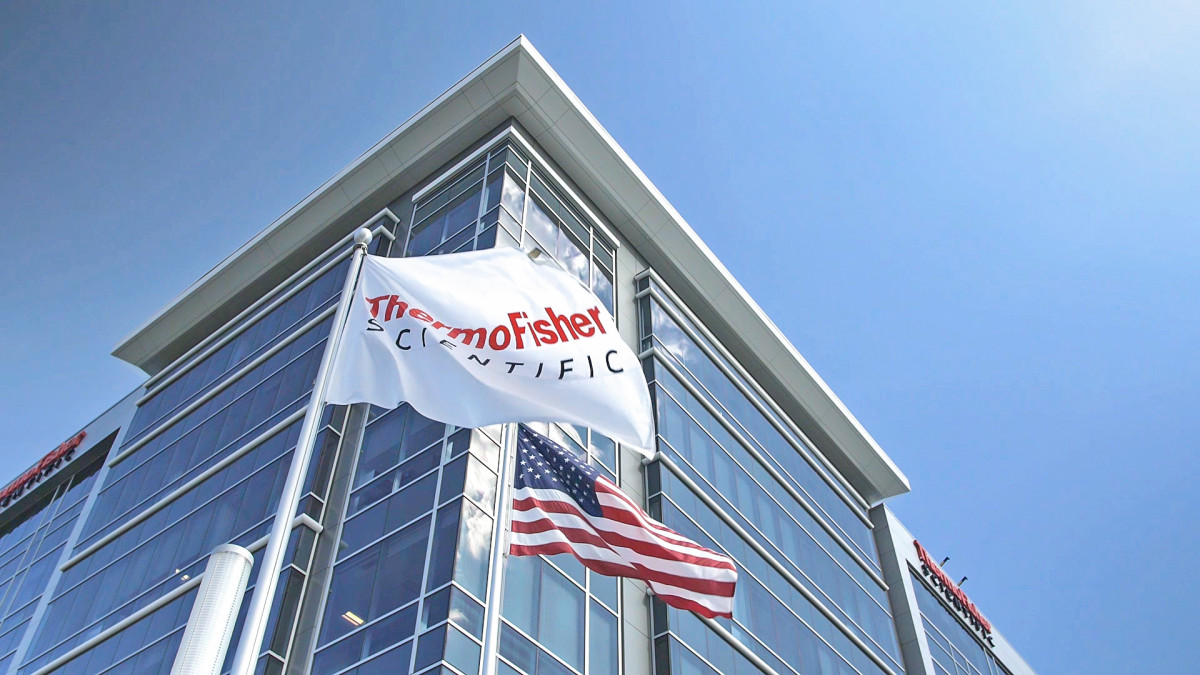 The Thermo Fisher Scientific headquarters in Massachusetts.