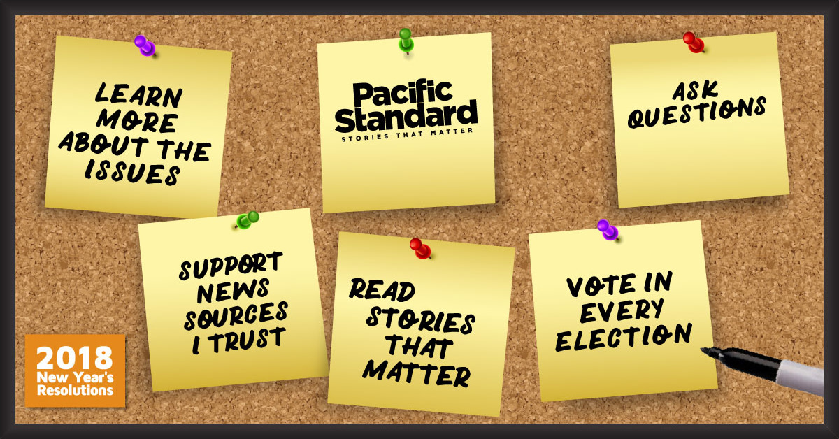 Read more stories that matter and support journalism in the public interest. Subscribe to Pacific Standard today, or try a single issue of the magazine.