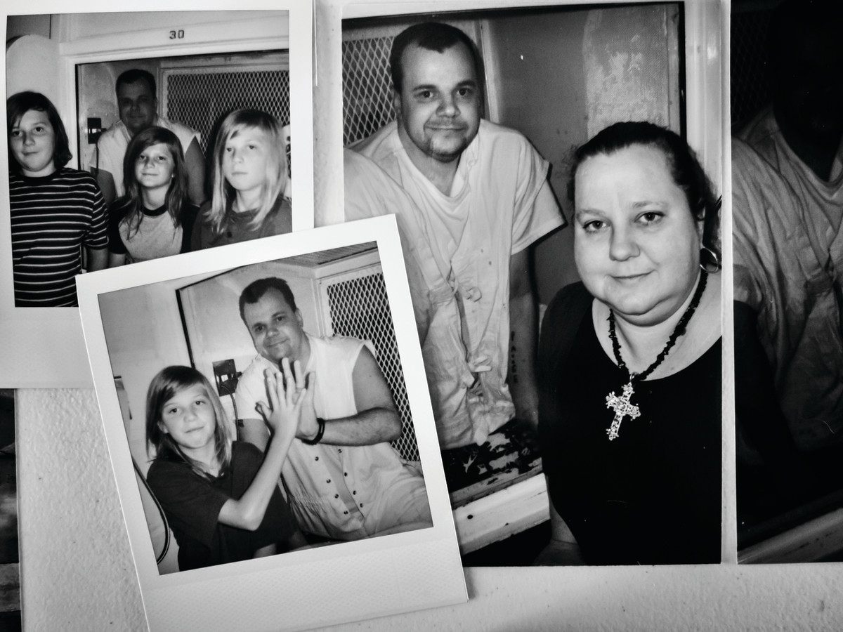 Terri Been and her family—with her brother, Jeff—over the years.