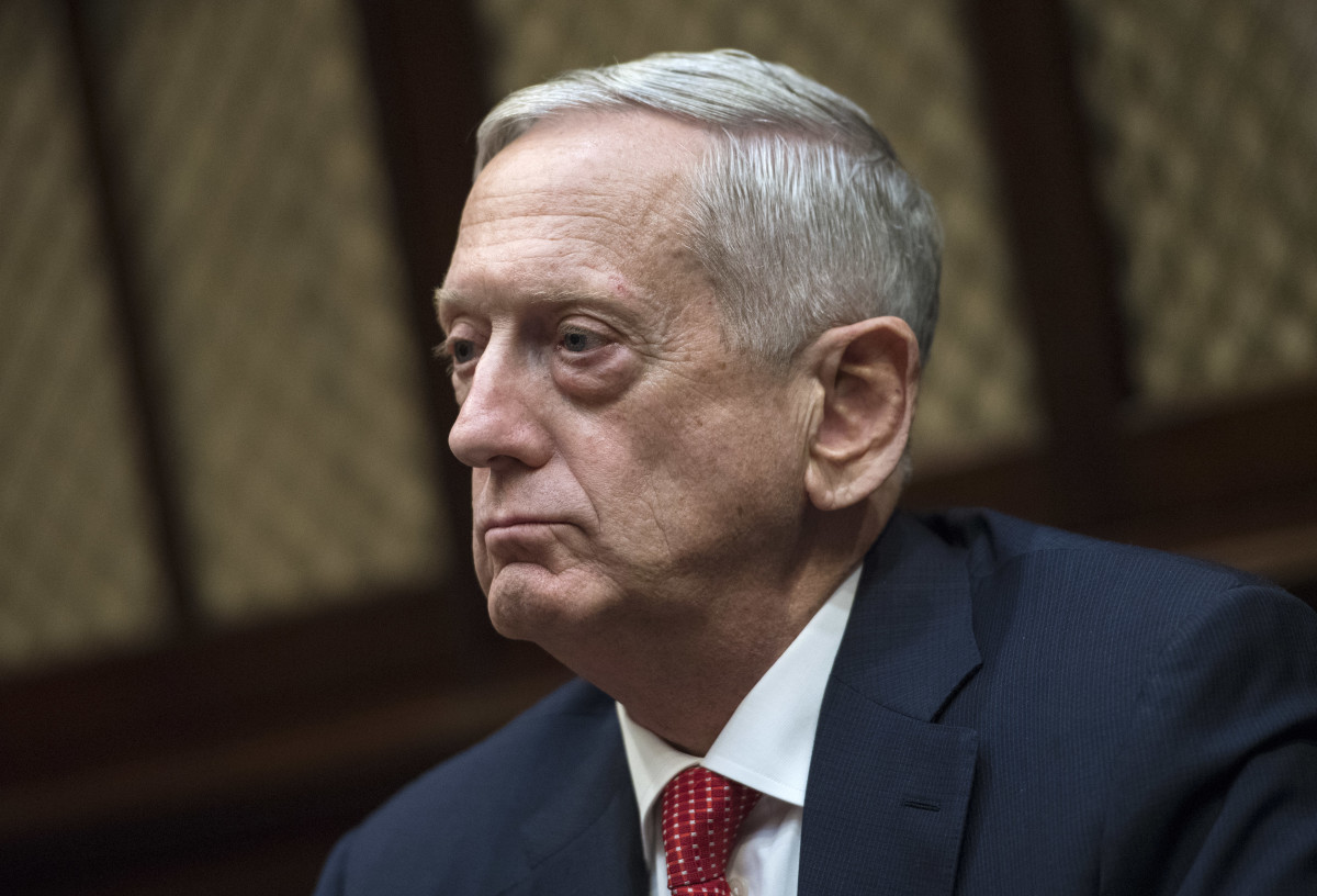 Secretary of Defense Jim Mattis.