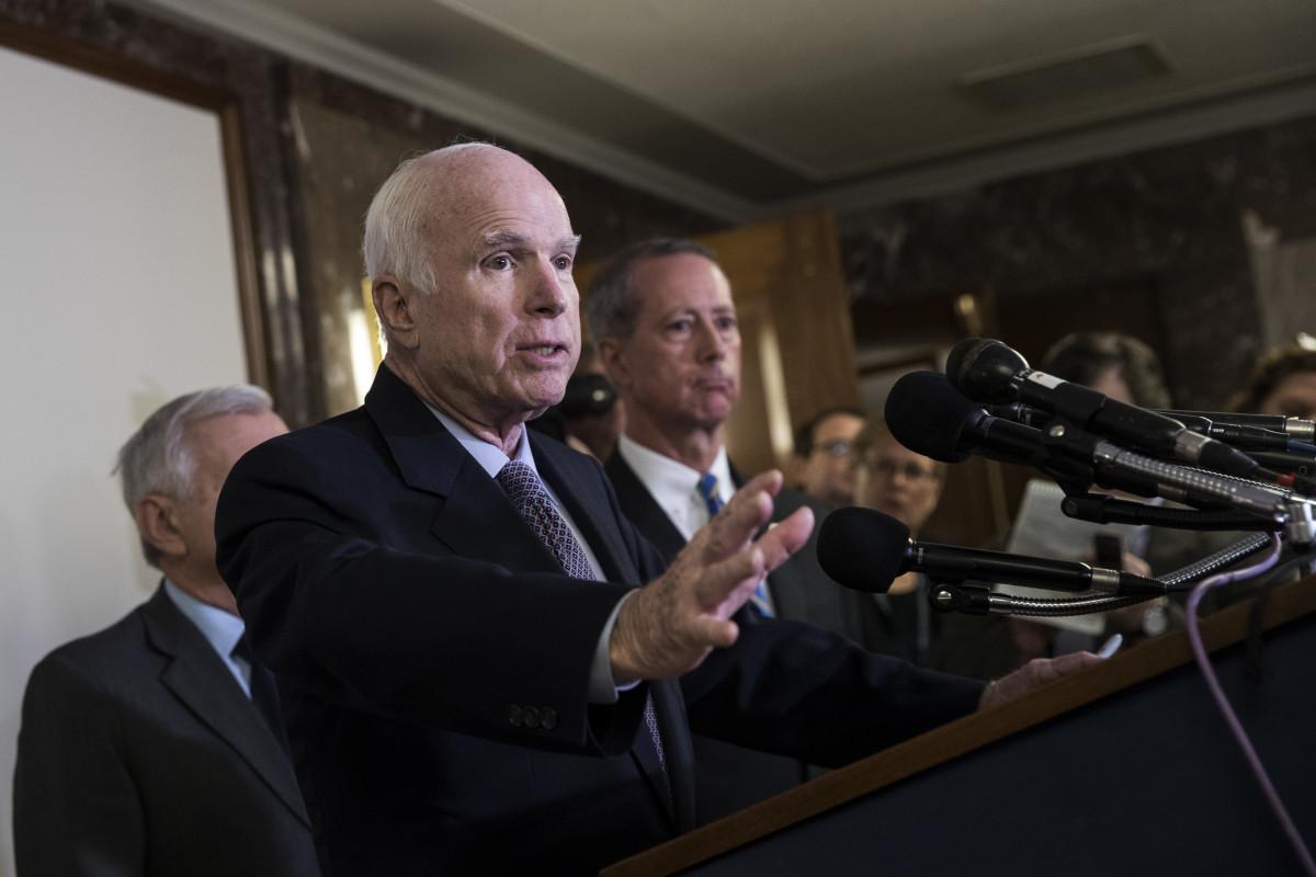 Senator John McCain (R-Arizona).