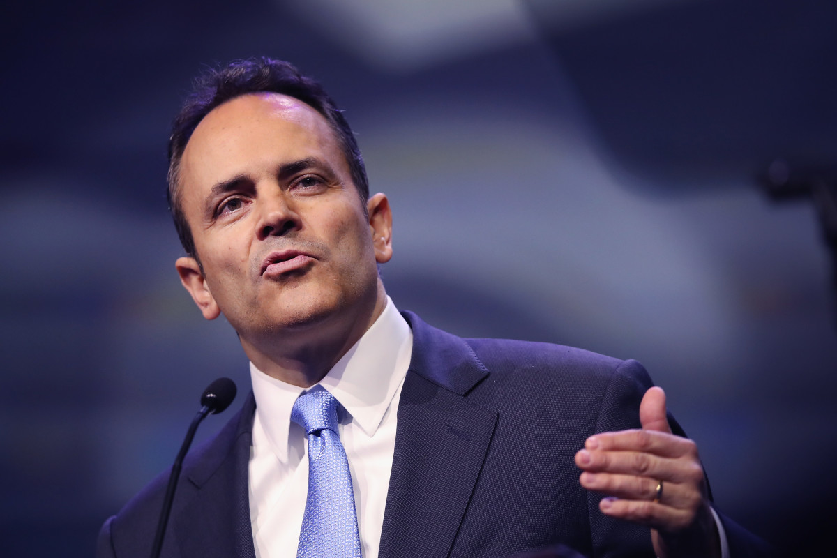 Governor Matt Bevin, pictured here in 2016.