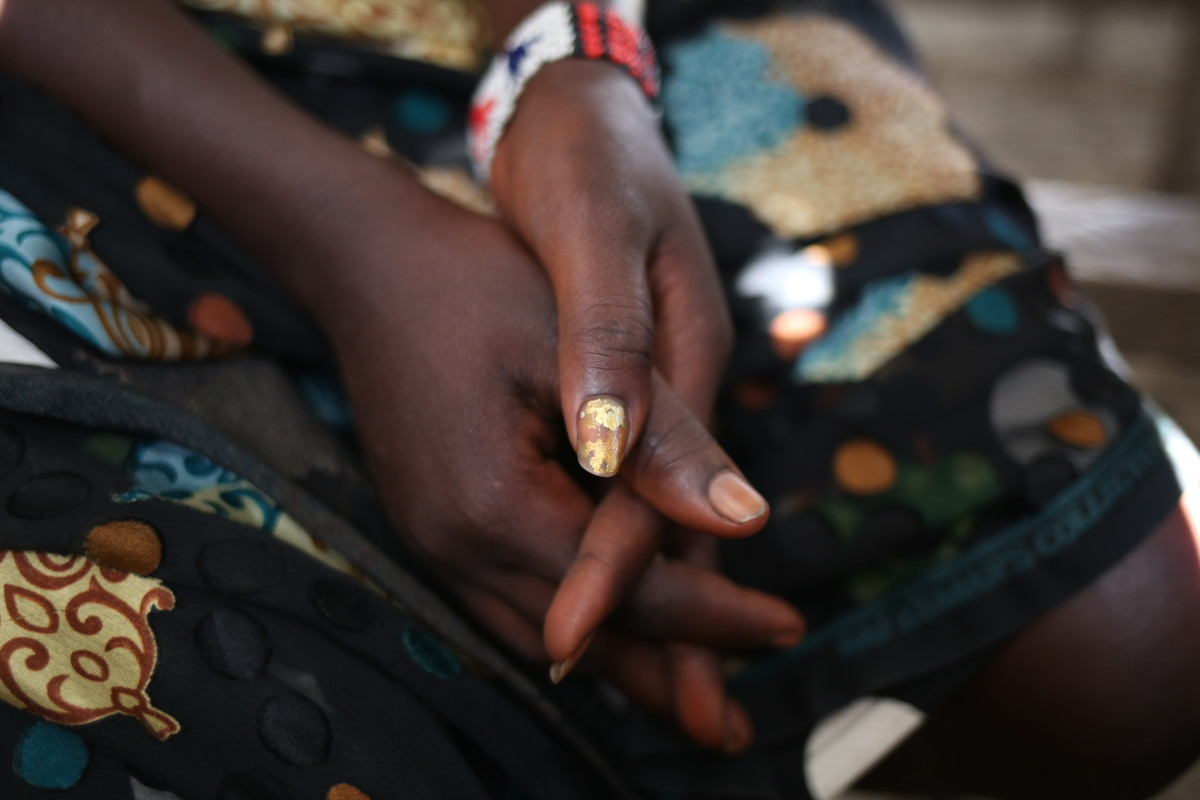 Cecilia was raped on her journey to reach the U.N. protection site in Bentiu, South Sudan.