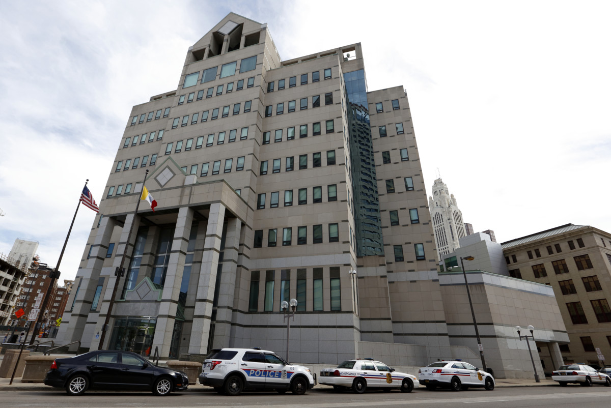 The Columbus, Ohio, Division of Police Central Headquarters is seen on September 15th, 2016, in Columbus, Ohio.
