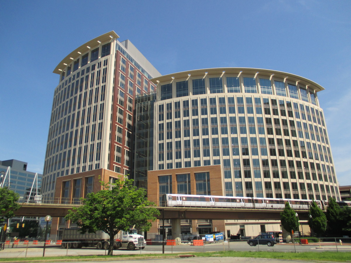 The National Science Foundation headquarters in Alexandria, Virginia.