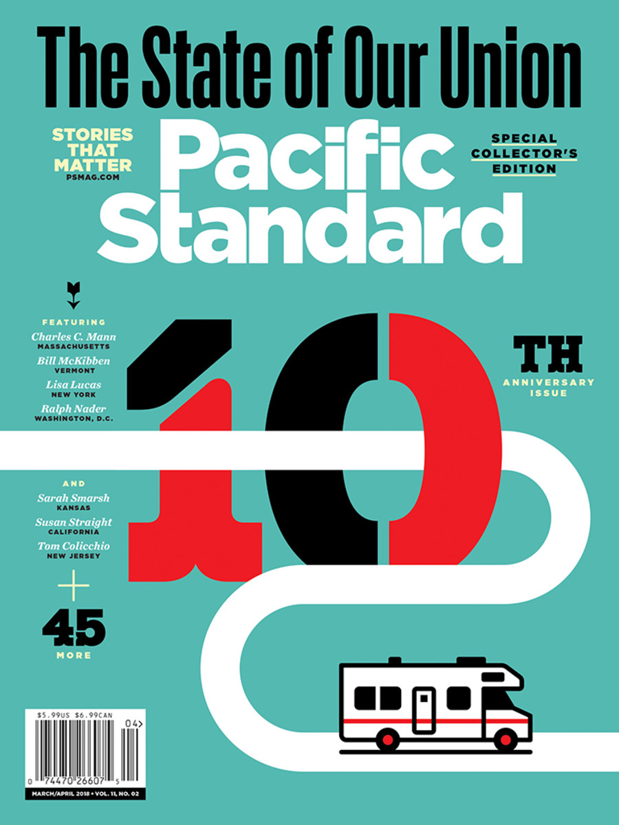 A version of this story originally appeared in the March/April 2018 issue of Pacific Standard. Subscribe now and get eight issues/year or purchase a single copy of the magazine.