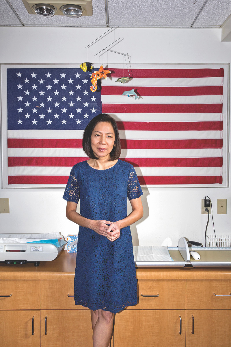 "Mai Khanh Tran: ""After the tears, we decided that we were going to fight. I knew that, as a physician, I needed to be a voice, an advocate, for my patients and their families."""