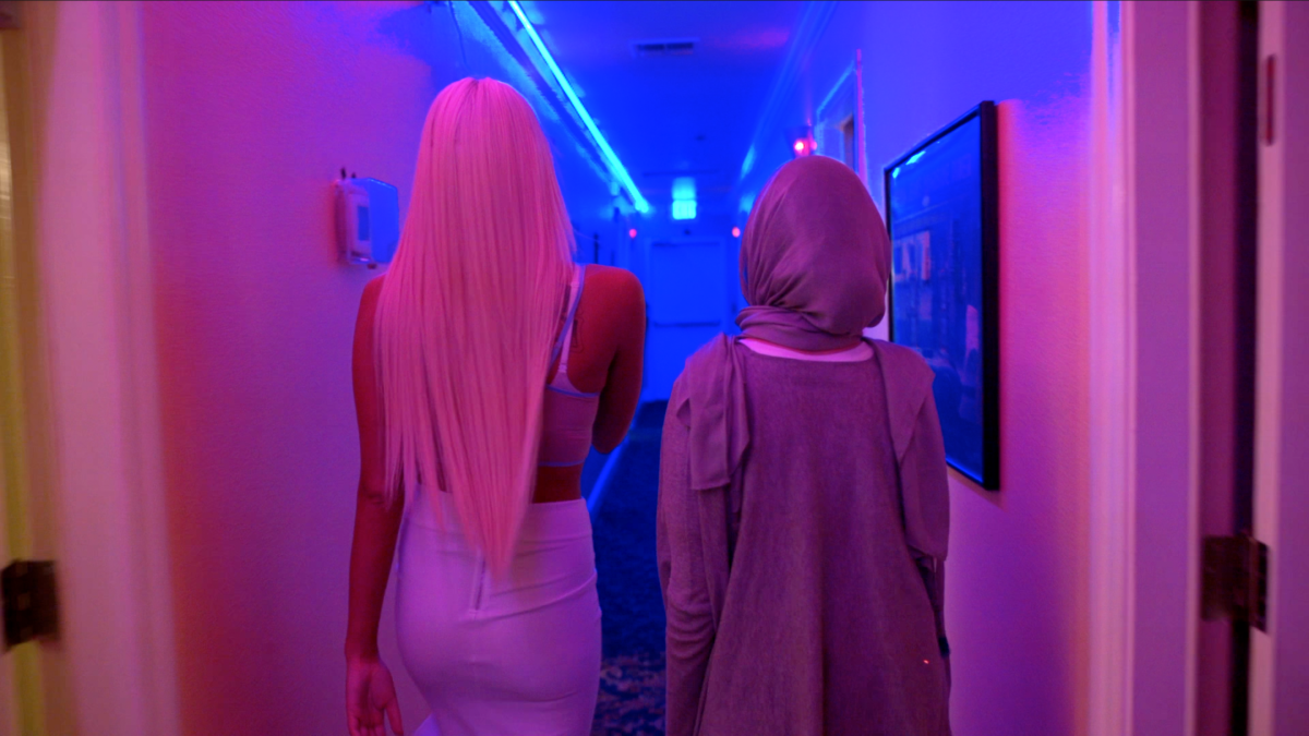 Sex worker Tiara Tae shows reporter Noor Tagouri around the Moonlite Bunny Ranch, an elite brothel in Nevada.