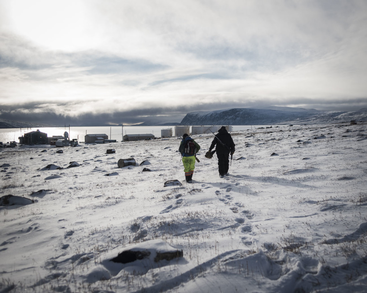 inuit mental health is on thin ice but a return to nature could help